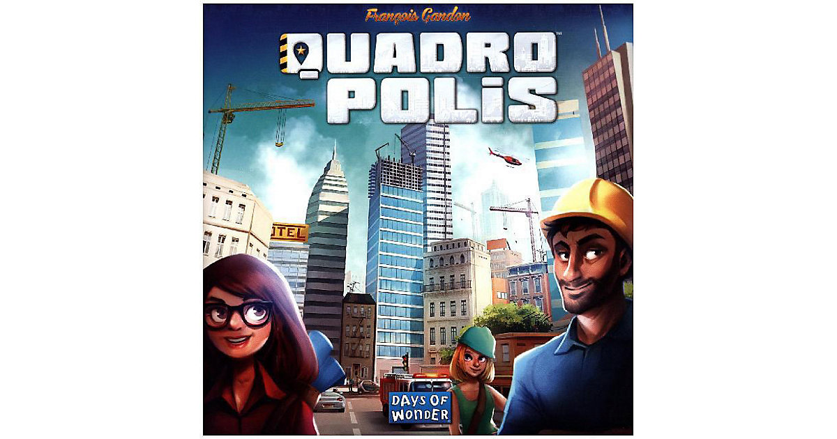 Asmodee · Quadropolis (Spiel)