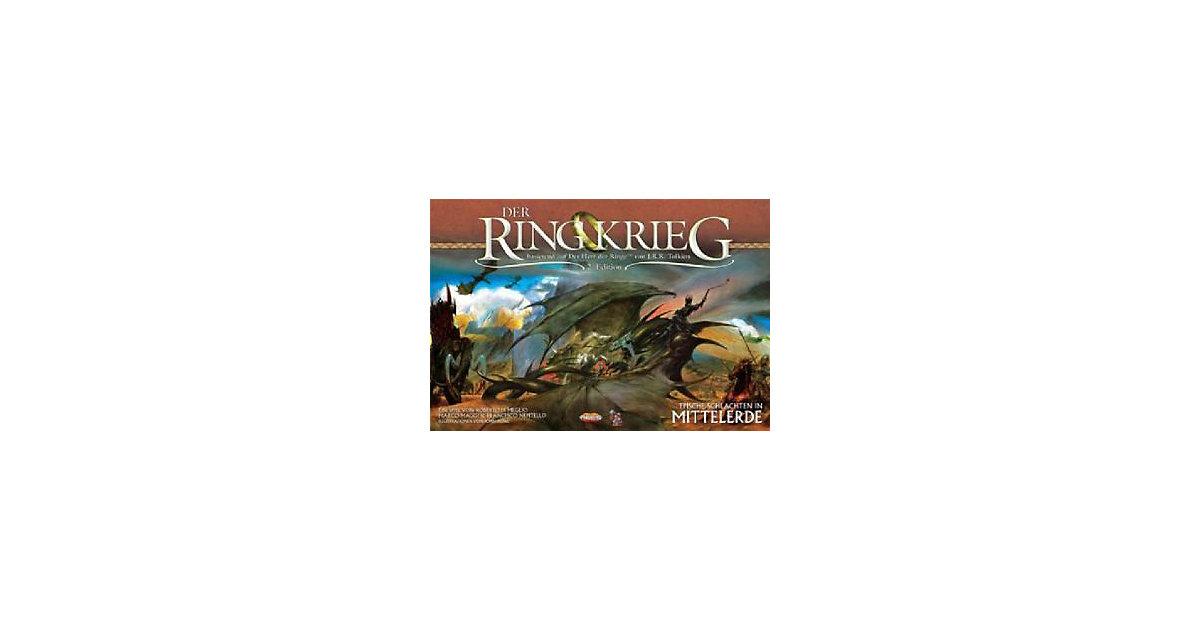 Asmodee · Der Herr der Ringe, Der Ringkrieg 2te Edition (Spiel)