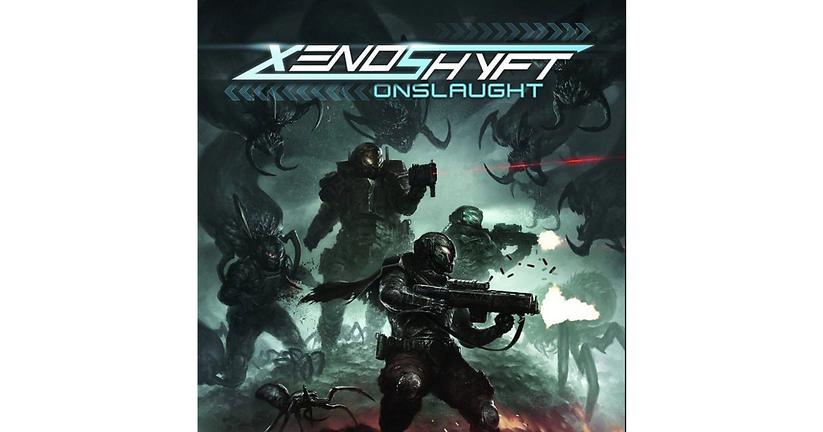 Asmodee · Xenoshyft: Onslaught (Spiel)