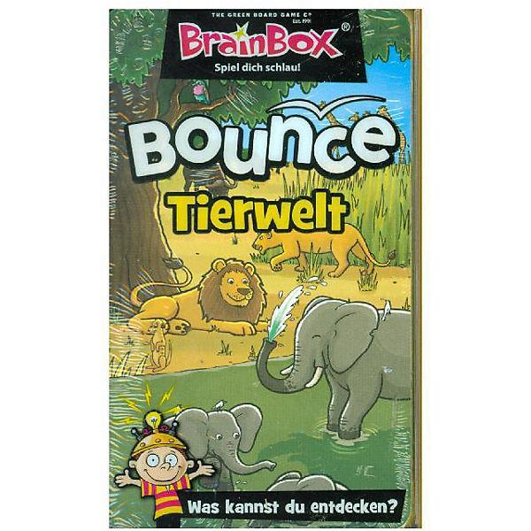 BrainBox Bounce - Tiere (Kinderspiel),