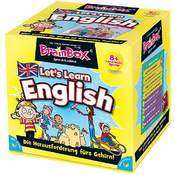 Brain Box - Let& 039;s Learn English (Kinderspiel),