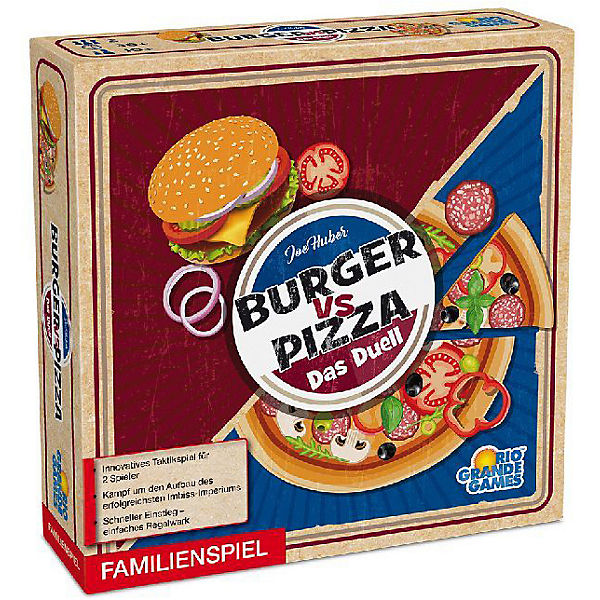 Burger vs. Pizza (Spiel), ASS