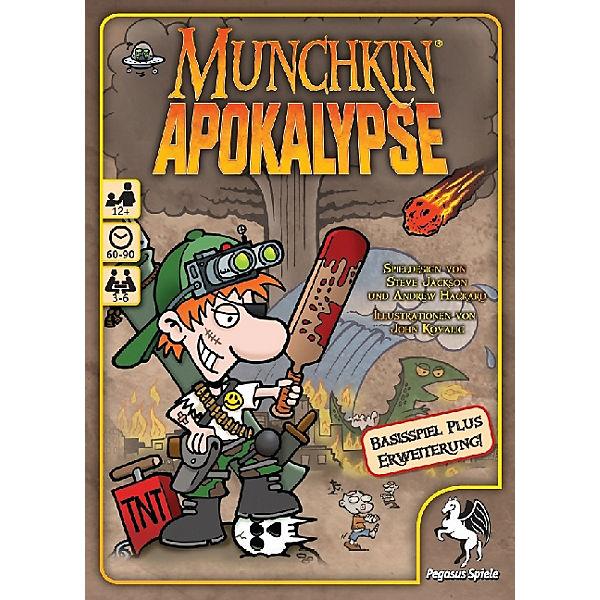 Munchkin Apokalypse 1 + 2 (Kartenspiel), Pegasus