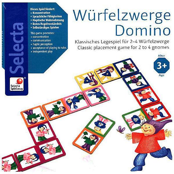 Würfelzwerge Domino (Kinderspiel), Schmidt Spiele