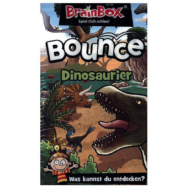BrainBox Bounce - Dinosaurier (Kinderspiel)