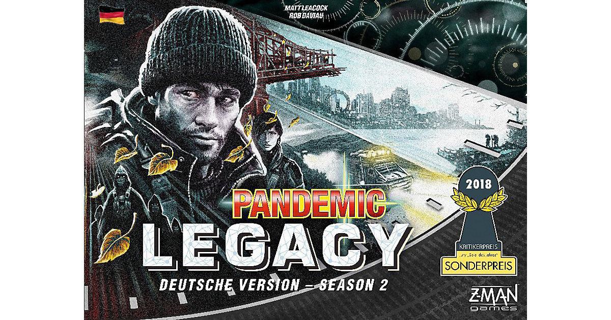 Asmodee · Pandemic Legacy Season 2 Schwarz (Spiel)