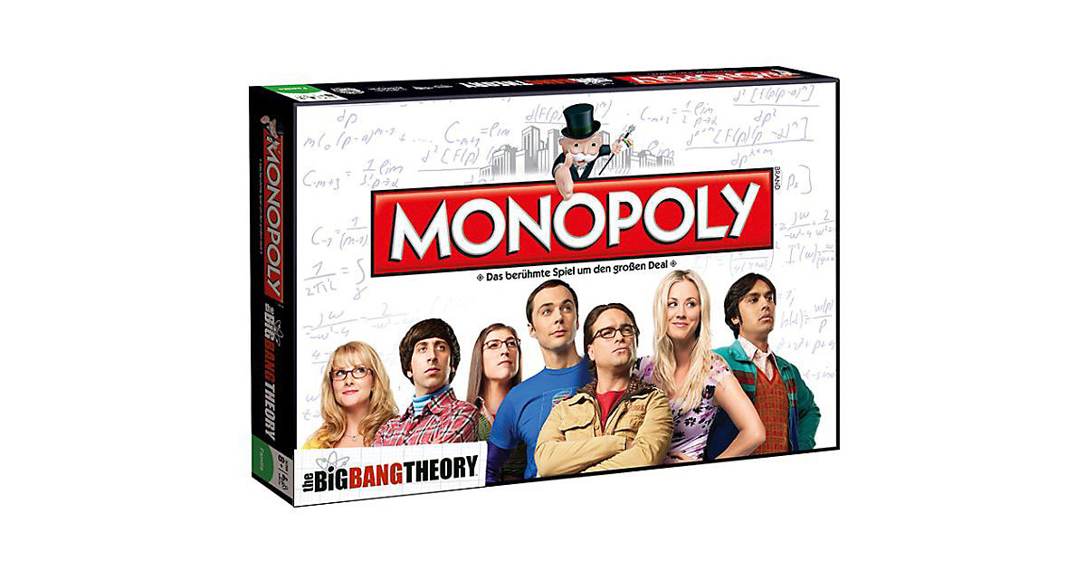 Winning Moves · Monopoly Big Bang Theory (Spiel)