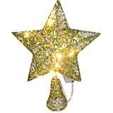 """Электрическая верхушка на ёлку Новогодняя сказка"""" """"Звезда"""", 18х24 см"""