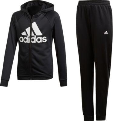 Trainingsanzug HOOD PES TS für Mädchen, adidas Performance