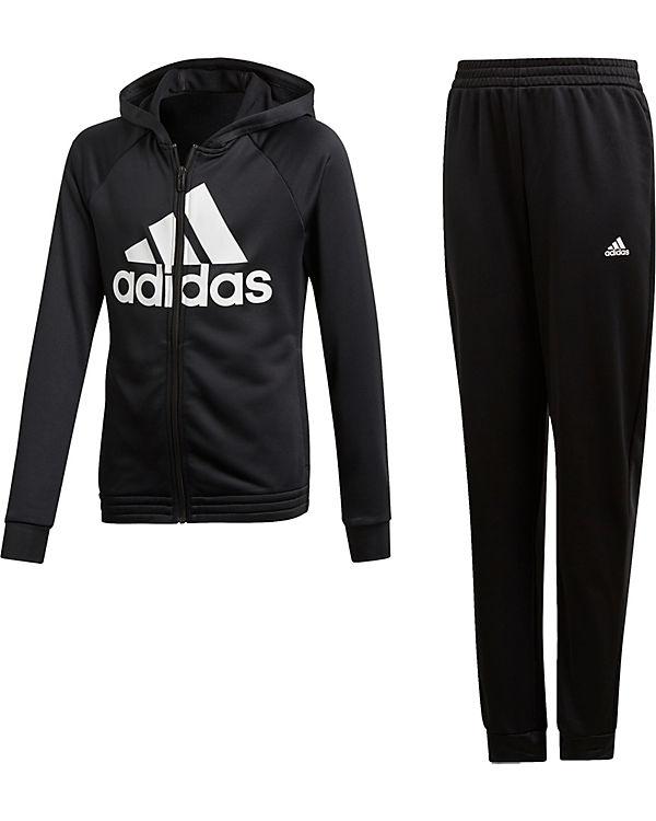 amazon utterly stylish 100% top quality Trainingsanzug HOOD PES TS für Mädchen, adidas Performance