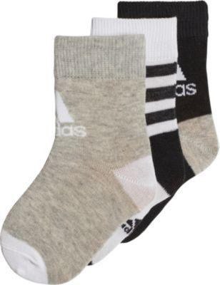 3er Pack ANKLE Socken für Kinder, adidas Performance