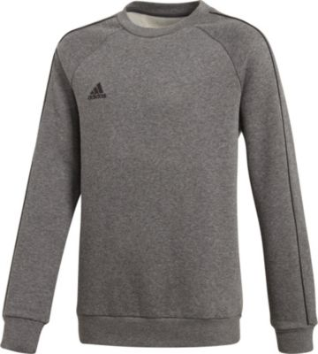 grauer adidas pullover ohne kapuze