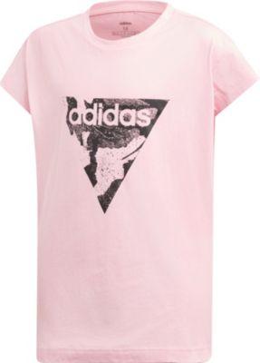 Fitness & Laufbekleidung Adidas Mädchen Funktionsshirt Climalite Sport Pink Neonpink Gr.152 M