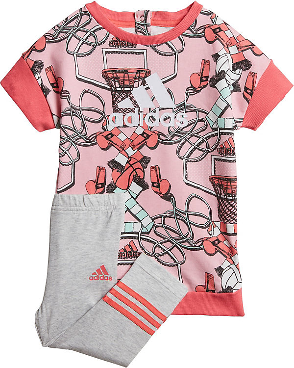 cheap another chance sale usa online Baby Sommer Set: Kleid + Leggings, adidas Performance