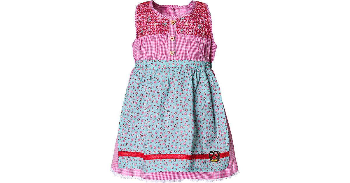 Baby Dirndl rosa/weiß Gr. 80 Mädchen Baby