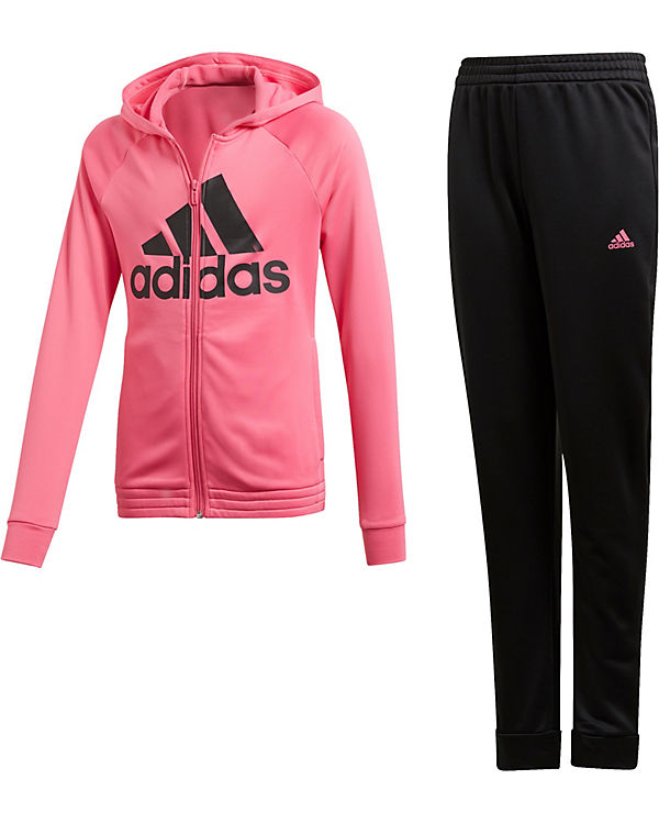 outlet best choice outlet store sale Trainingsanzug HOOD PES TS für Mädchen, adidas Performance