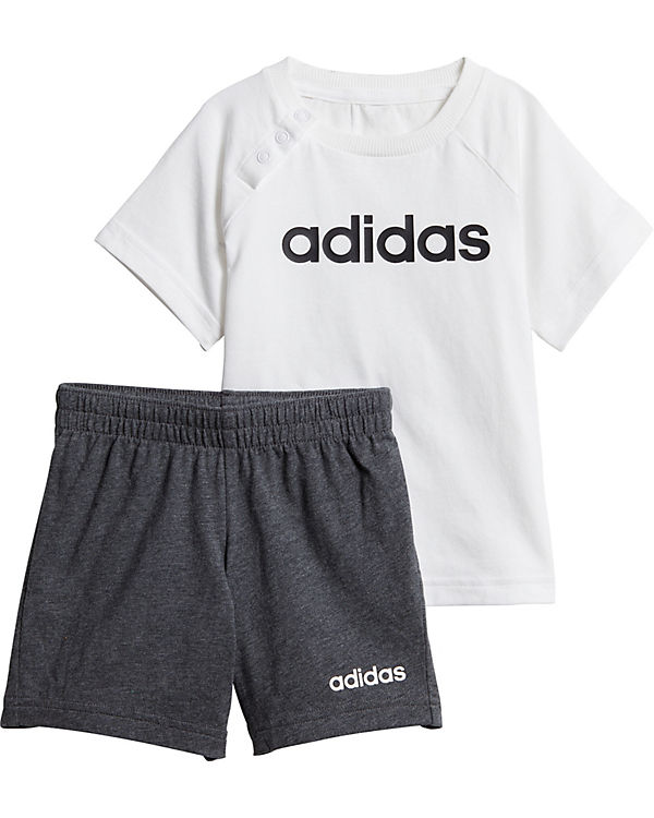super cheap wide varieties best price Baby Sommer Set: T-Shirt + Shorts, adidas Performance