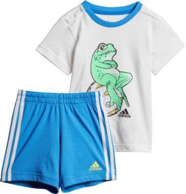 Baby Sommer Set ANIMAL für Jungen: T Shirt + Shorts, adidas Performance
