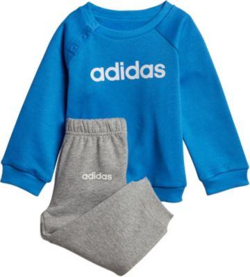 Baby Jogginganzug LIN JOGG FL für Jungen, adidas Performance