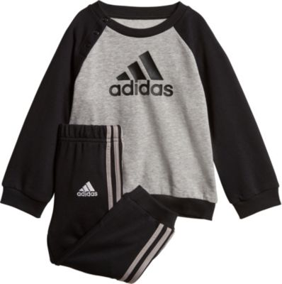 Baby Jogginganzug LOGO JOGG für Jungen, adidas Performance