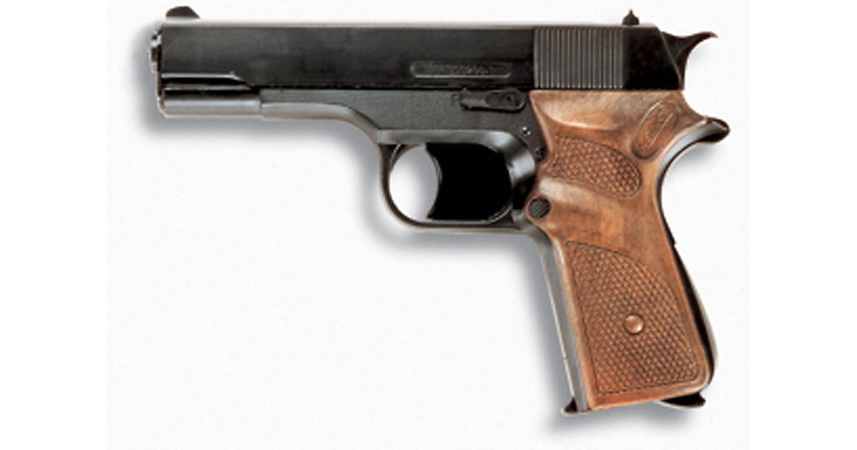 Polizei-Pistole Jaguarmatic Jungen Kinder