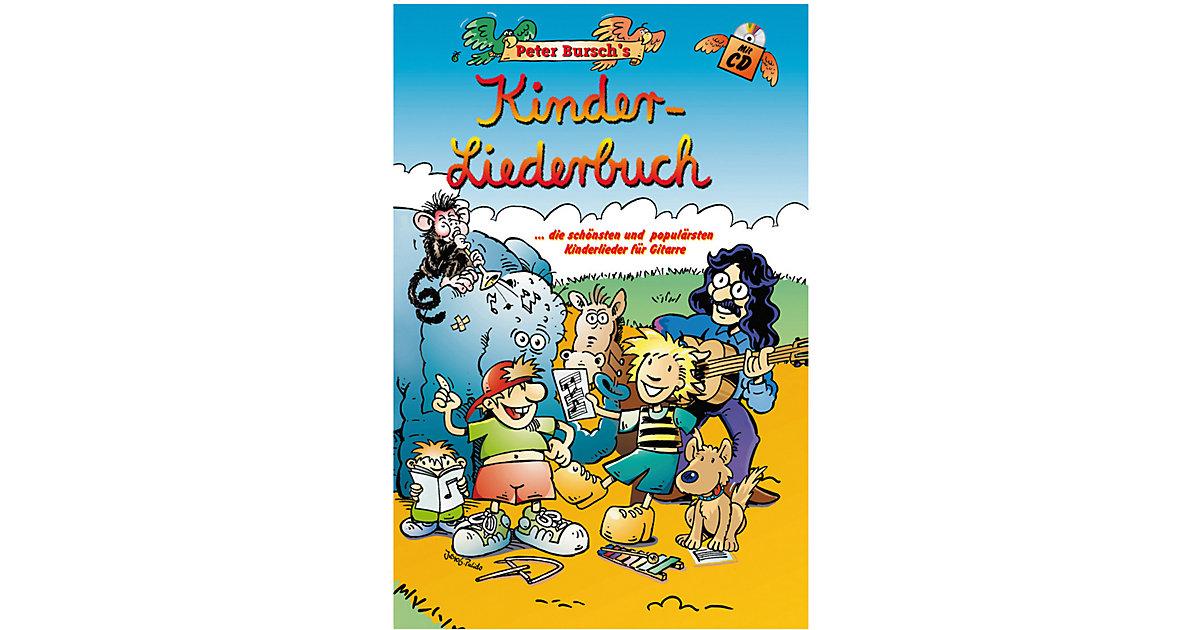 Voggenreiter · Peter Bursch´s Kinder-Liederbuch, m. Audio-CD