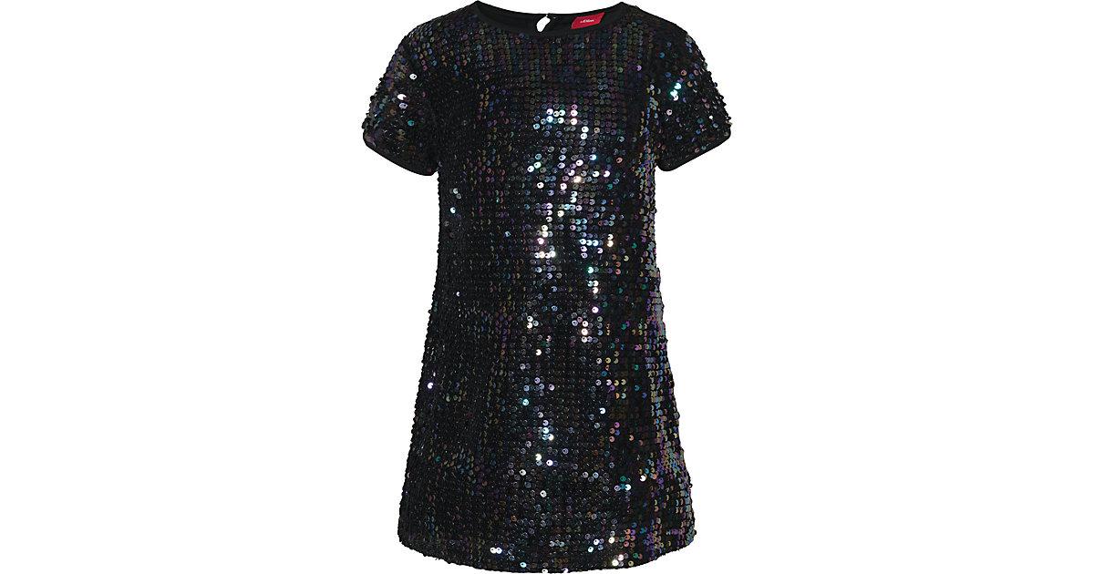 Kinder Paillettenkleid weiß Gr. 110 Mädchen Kleinkinder