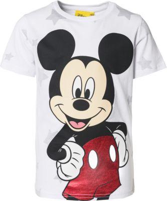 Disney Mickey Mouse T Shirt mit Print in Metallic Optik für Jungen, Disney Mickey Mouse & friends