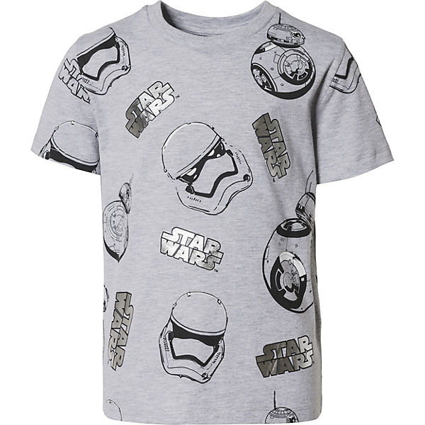 Star Wars T-Shirt mit Details in Metallic-Optik für Jungen