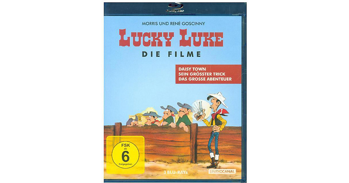 Blu-ray Lucky Luke - Die Spielfilm Edition Hörbuch