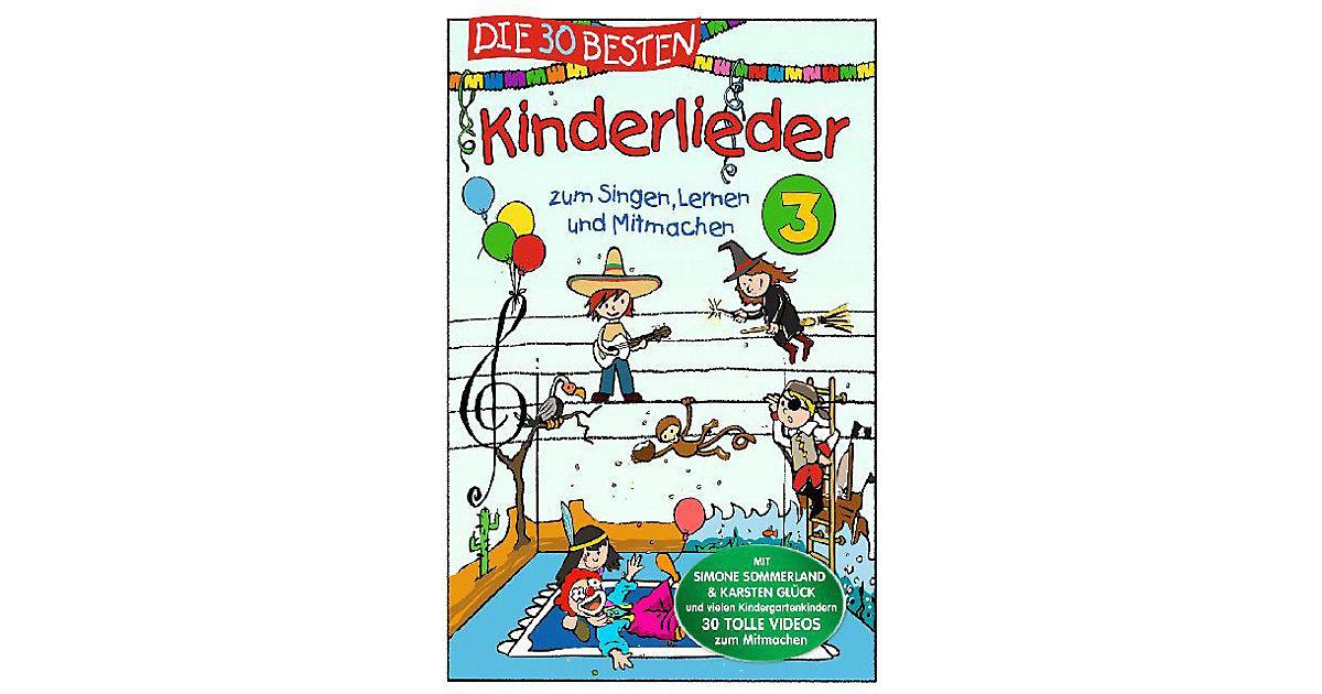 DVD Die 30 besten Kinderlieder Vol.3 Hörbuch
