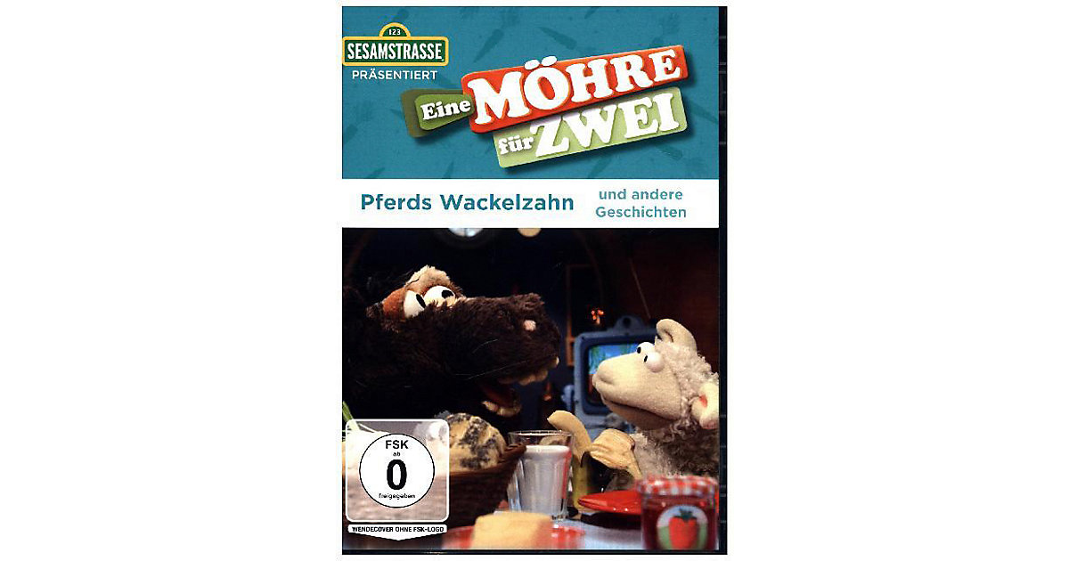 DVD Sesamstraße präsentiert: Eine Möhre Zwei - Pferds Wackelzahn und andere Geschichten Kinder