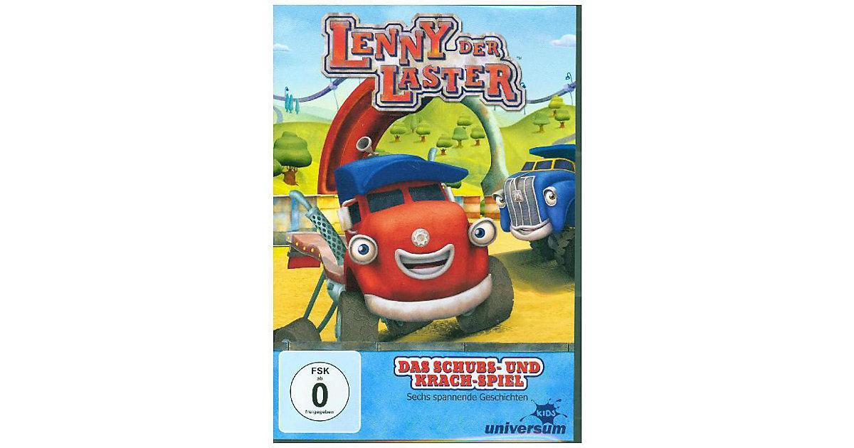 DVD Lenny der Laster 1 - Das Schubs- und Krach-Spiel Hörbuch