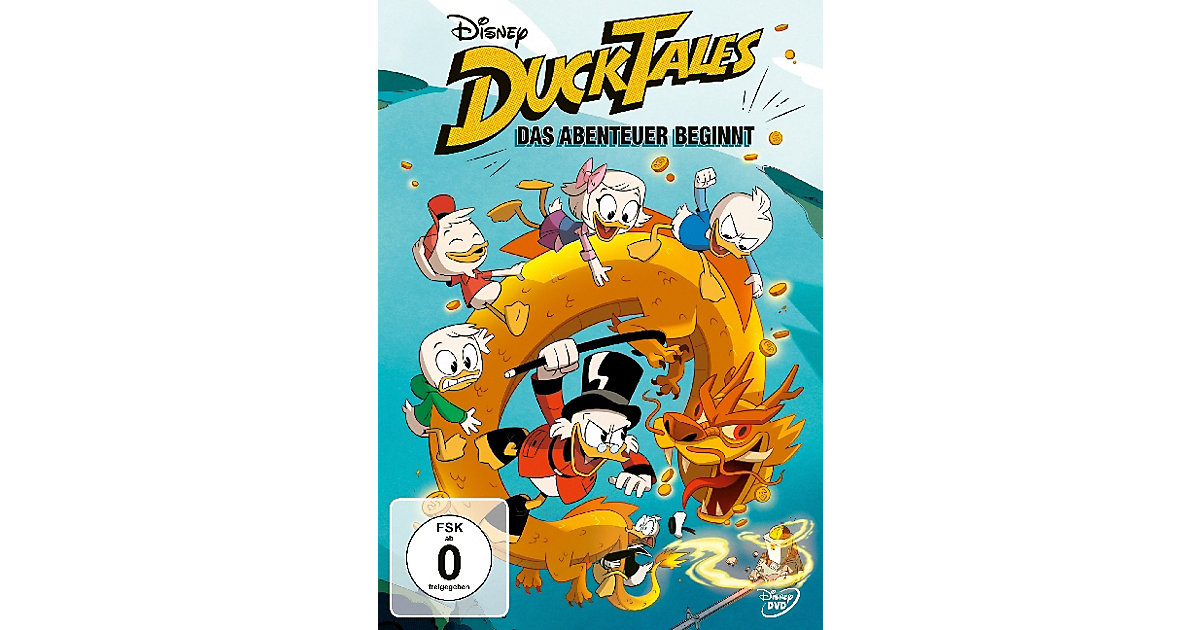 DVD DuckTales: Das Abenteuer beginnt Hörbuch