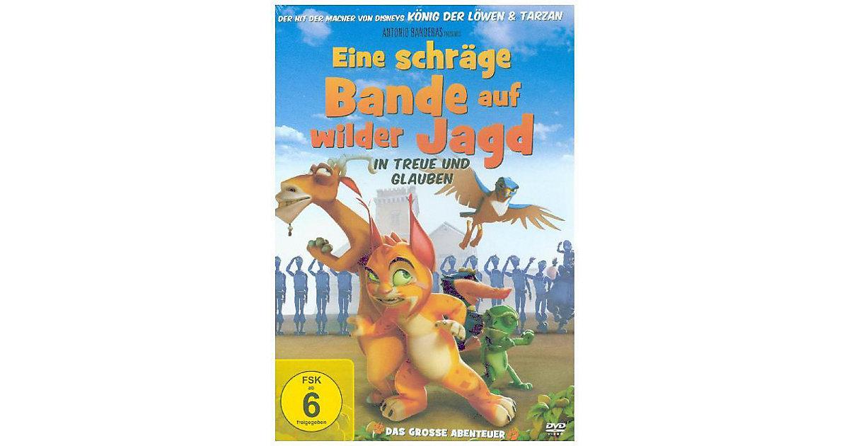 DVD Eine schräge Bande auf wilder Jagd Hörbuch