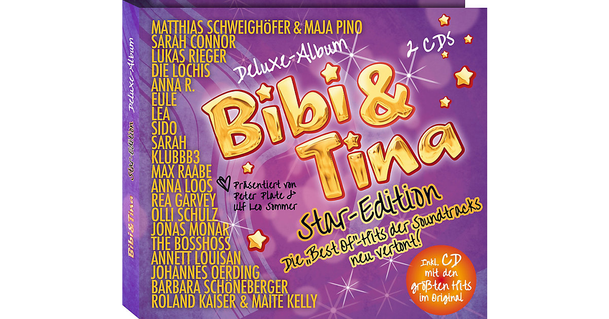 KIDDINX · CD Bibi & Tina Star-Edition Deluxe-Albums (2 CDs)