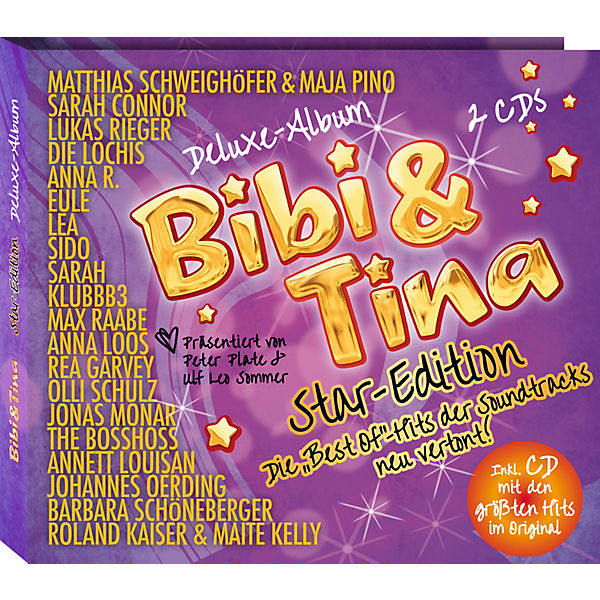 CD Bibi & Tina Star-Edition Soundtracks Deluxe-Albums (2 CDs)