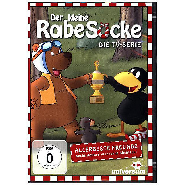 cab83f79e3 DVD Der kleine Rabe Socke 9 - Allerbeste Freunde, Rabe Socke | myToys