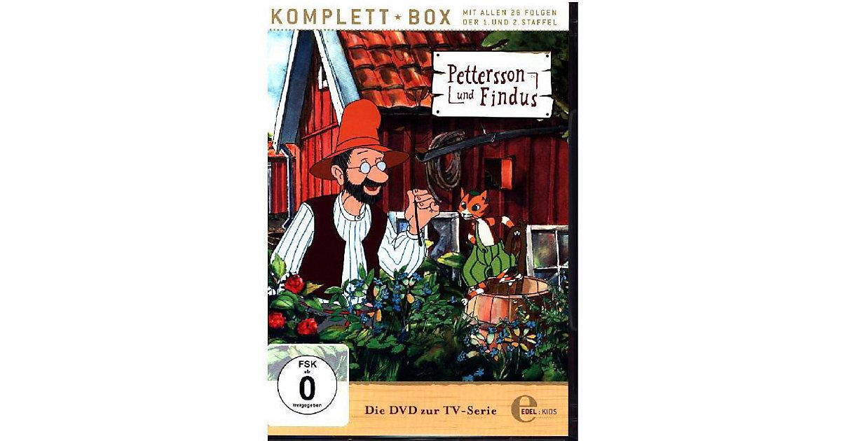 DVD Pettersson und Findus - Komplettbox, 2 DVDs Hörbuch