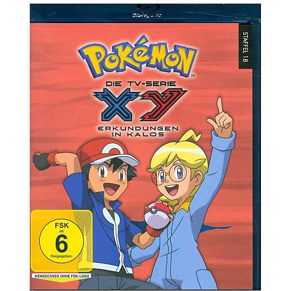 Blu Ray Pokemon Xy Erkundungen In Kalos Pokemon Mytoys