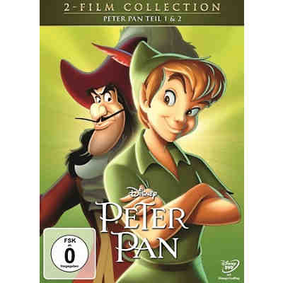 DVD Peter Pan 1+2