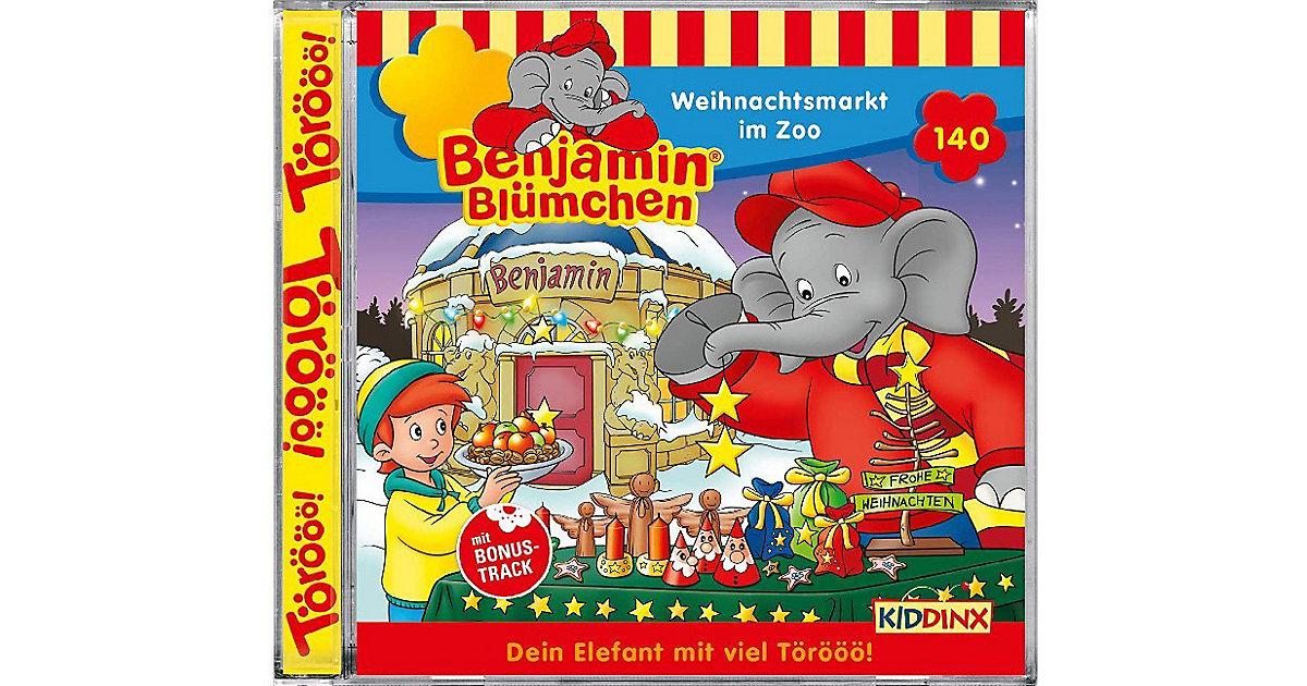 CD Benjamin Blümchen 140- Weihnachtsmarkt im Zoo Hörbuch