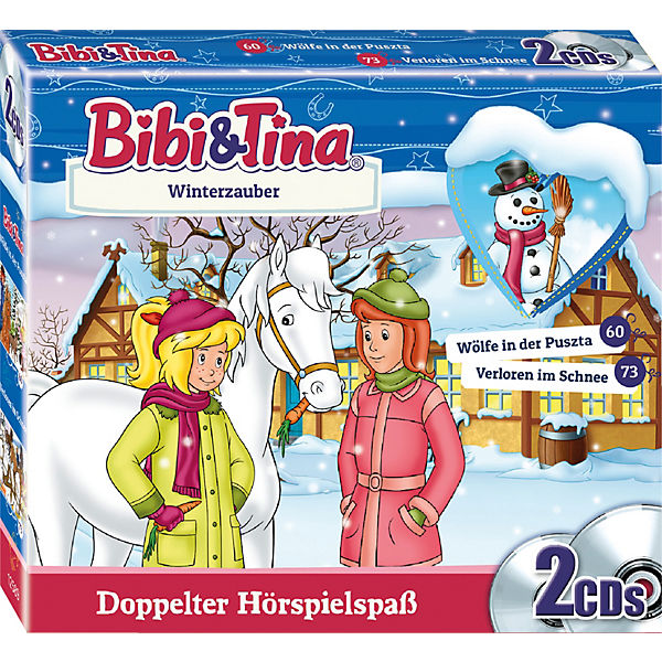 CD Bibi & Tina - Winterzaubers (2 CDs)