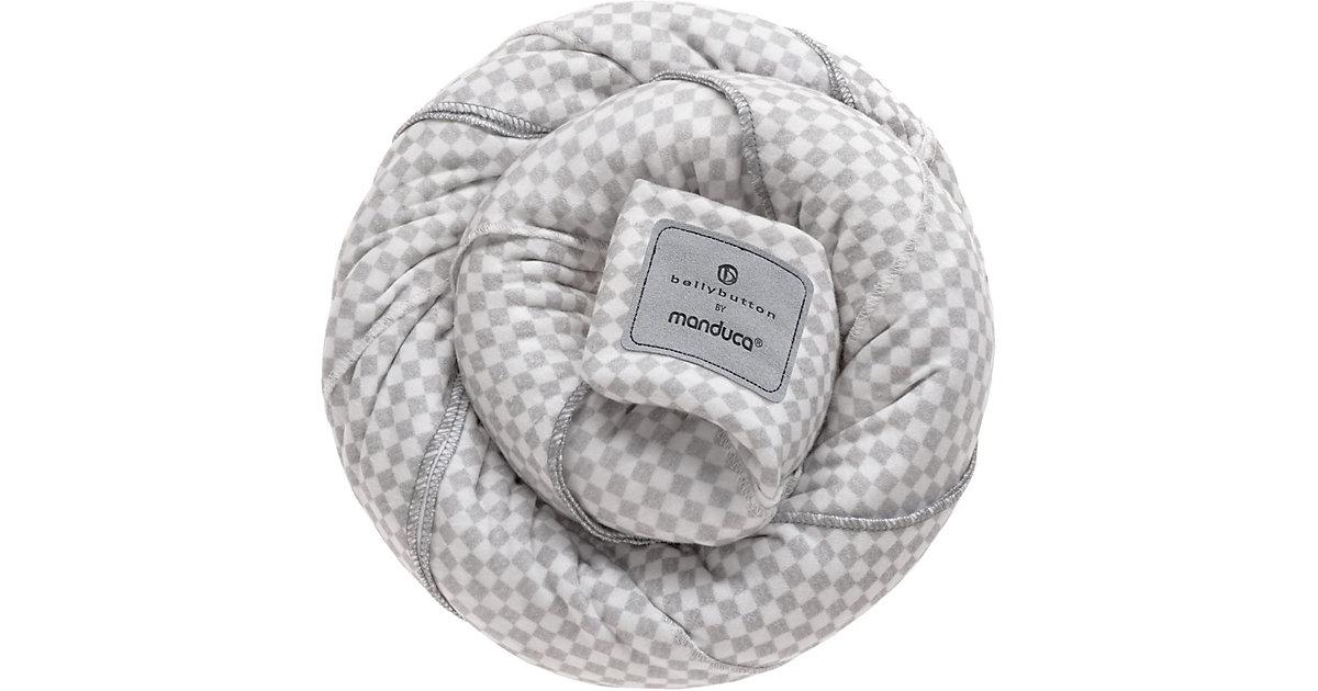 Manduca · Tragetuch sling, bellybutton by manduca, SoftCheck grey