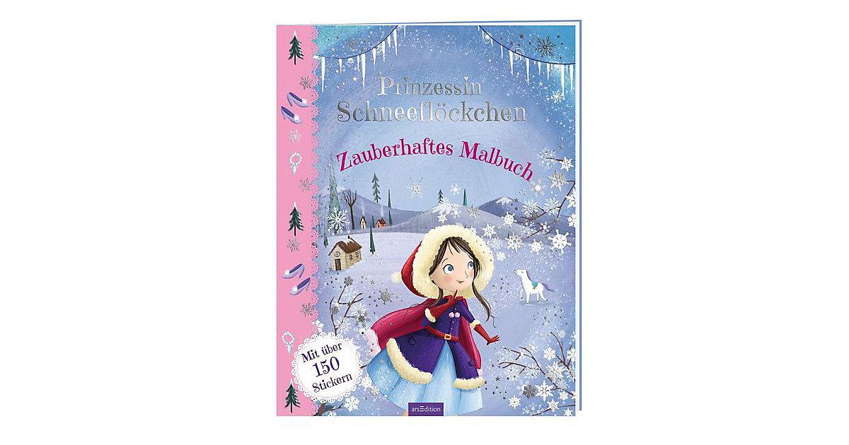 Buch - Prinzessin Schneeflöckchen: Zauberhaftes Malbuch