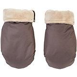 Муфта-рукавички для маминых рук Mammie, коричневый