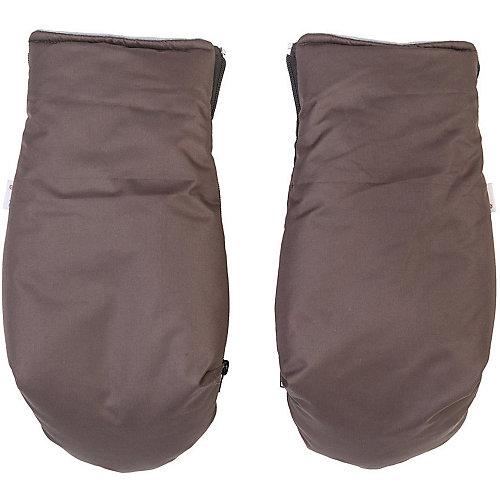 Муфта-рукавички для маминых рук Mammie, коричневый от Mammie