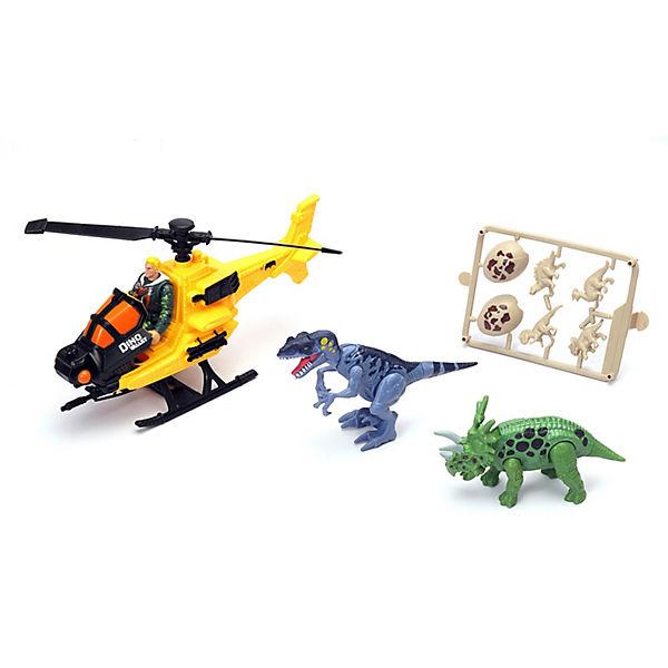 Игровой набор Chapmei Охотник на вертолете за динозаврами