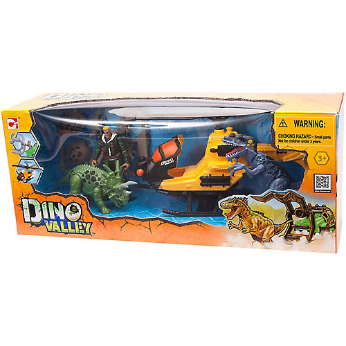 Игровой набор Chapmei Охотник на вертолете за динозаврами от Chap Mei