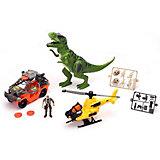 Игровой набор Chapmei Большая охота на Тиранозавра, свет/звук